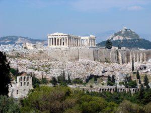 Athens Acropolis lycabettus hill