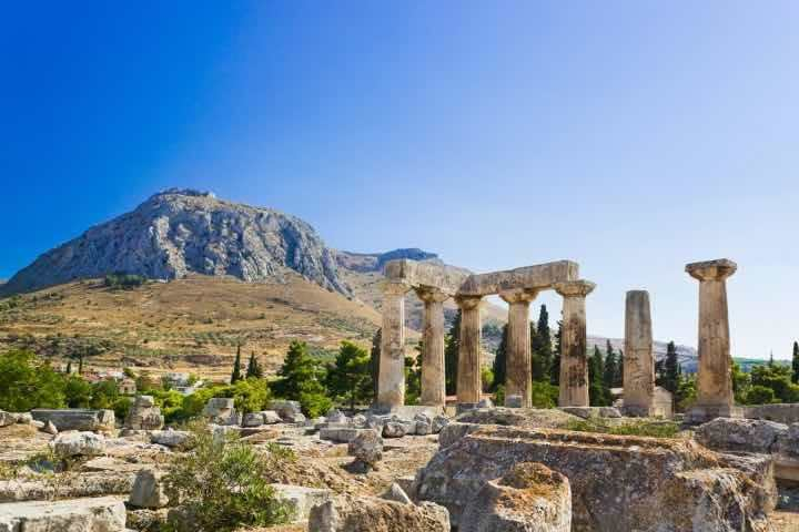 Ancient Corinth & Wine Tasting