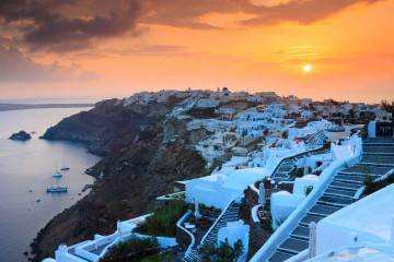 Photo shooting Santorini